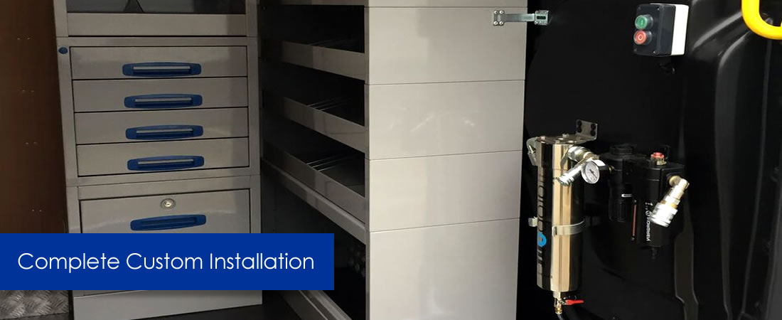 Complete Custom Storage Installation