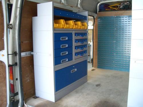 Gallery Ford Transit Pic 03 Van System Van Racking