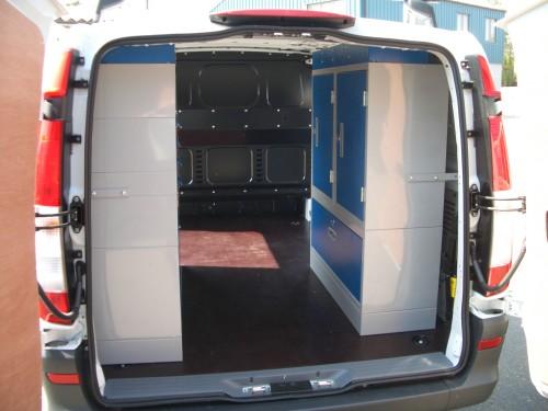 Gallery Mercedes Vito Pic 04 Van System Van Racking
