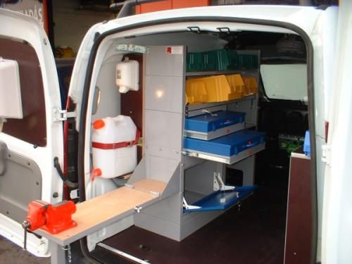 Vauxhall Combo Van System Van Racking Amp Storage