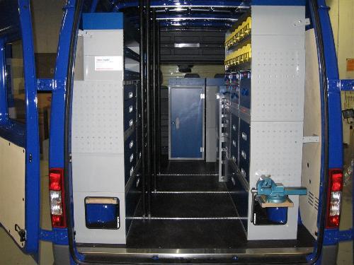 Van System Demo Vehicle Van System Van Racking Amp Storage