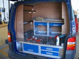 Gallery VW TRANSPORTER SWB Pic2 Van System