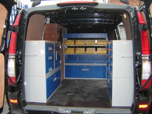 Gallery Mercedes Vito Pic 01 Van System Van Racking
