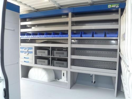Gallery Citroen Jumper Pic2 Van System Van Racking