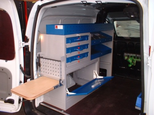 Citroen Berlingo Van System Van Racking Amp Storage