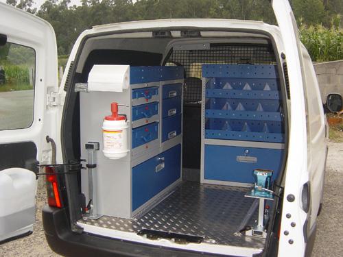 Citroen Berlingo Van System Racking amp Storage