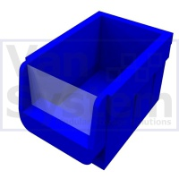 Medium Plastic Bin - Box of 10pcs