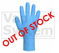Bodyguards GL890 Blue Nitrile Gloves - Size Large