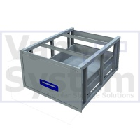 UFD.1.776.609.310 Under Floor Drawer 0.75m - 1 Drawer